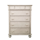 American Woodcrafters Newport Master Chest in Antique White 3710-150