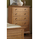 American Woodcrafters Pathways Chest in Sandstone 5100-150