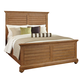 American Woodcrafters Pathways King Panel Bed in Sandstone