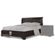 Cresent Fine Furniture Newport  King Sleigh Bed with Storage in Espresso