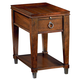 Hammary Sunset Valley Single-Drawer Chairside Table in Brown 197-916