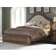 Pulaski Aurora Queen Upholstered Bed in Gray-Tone 742170Q