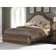 Pulaski Aurora King Upholstered Bed in Gray-Tone 742180K