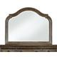 Pulaski Aurora Arched Mirror in Gray-Tone 742110