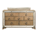 Pulaski Karissa 7 Drawer Dresser in Gold 757100 SPECIAL