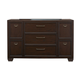 Samuel Lawrence Clubhouse Drawer Dresser in Walnut 8872-410