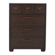 Samuel Lawrence Clubhouse Drawer Chest in Walnut 8872-440