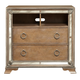 Pulaski Karissa Media Chest in Gold 757145
