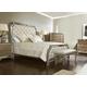 Pulaski Karissa 4-Piece Upholstered Bedroom Set in Gold