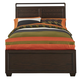 Samuel Lawrence Clubhouse Twin Panel Bed in Walnut