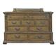 Pulaski Stratton 9 Drawer Dresser in Aged Honey 737100