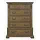 Pulaski Stratton 6 Drawer Chest in Aged Honey 737124