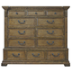 Pulaski Stratton Master Chest in Aged Honey 737127