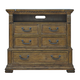 Pulaski Stratton Media Chest in Aged Honey 737145