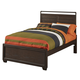 Samuel Lawrence Clubhouse Full Panel Bed in Walnut