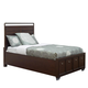 Samuel Lawrence Clubhouse Twin Storage Bed in Walnut