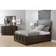 Samuel Lawrence Clubhouse 4-Piece Storage Bedroom Set in Walnut