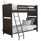 Samuel Lawrence Clubhouse Twin Bunk Bed in Walnut
