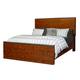 Aspenhome Rockland Queen Panel Bed in Vintage Brown I58-492Q