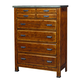 Aspenhome Rockland 5 Drawer Chest in Vintage Brown I58-456