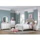 Samuel Lawrence Madison Upholstered Bedroom Set in Antique White