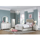 Samuel Lawrence Madison Upholstered Bedroom Set with Trundle Storage in Antique White