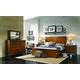Aspenhome Rockland 4-Piece Panel Bedroom Set in Vintage Brown