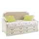 Samuel Lawrence Madison Day Bed with Underbed Storage Unit in Antique White
