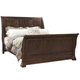 Aspenhome Westbrooke Queen Sleigh Bed in Stout
