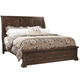 Aspenhome Westbrooke Queen Storage Sleigh Bed in Stout
