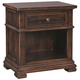 Aspenhome Westbrooke One Drawer Nightstand in Stout I59-451