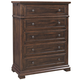 Aspenhome Westbrooke Five Drawer Chest in Stout I59-456