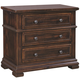 Aspenhome Westbrooke Liv360 Bedside Chest in Stout I59-449