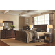 Aspenhome Westbrooke 4-Piece Sleigh Bedroom Set in Stout