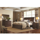 Aspenhome Westbrooke 4-Piece Sleigh Storage Bedroom Set in Stout