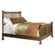 Intercon Furniture Oak Park King Slat Bed in Mission