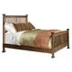 Intercon Furniture Oak Park California King Slat Bed in Mission