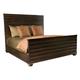 Bernhardt Miramont Queen Panel Bed in Dark Sable