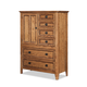 Intercon Furniture Alta Drawer Chest in Brushed Ash AL-BR-5306D-BAS-C