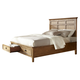 Intercon Furniture Alta King Storage Bed in Brushed Ash