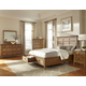 Intercon Furniture Alta 4-Piece Storage Bedroom Set in Brushed Ash