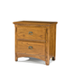 Intercon Furniture Pasadena Revival Nightstand in Medium Brown PR-BR-5402-MBN-C