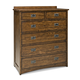Intercon Furniture Oak Park 6 Drawer Chest in Mission