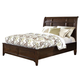 Intercon Furniture Jackson California King Sleigh Bed in Raisin