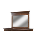 Intercon Furniture Star Valley Landscape Mirror in Rustic Cherry SR-BR-6291-RCY-C