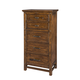 Intercon Furniture Wolf Creek Lingerie Chest in Vintage Acacia WK-BR-6105LC-VAC-C
