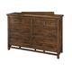 Intercon Furniture Wolf Creek Dresser in Vintage Acacia WK-BR-6106-VAC-C