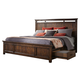 Intercon Furniture Wolf Creek King Storage Bed in Vintage Acacia