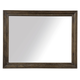 A.R.T Furniture St. Germain Landscape Mirror in Coffee/ Foxtail 215120-1513