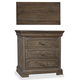A.R.T Furniture St. Germain 3 Drawer Nightstand in Coffee/ Foxtail 215140-1513